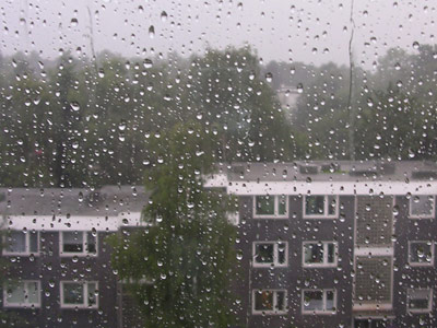 Bochum im Regen