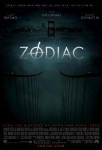 Zodiac (Amerikanisches Filmposter)