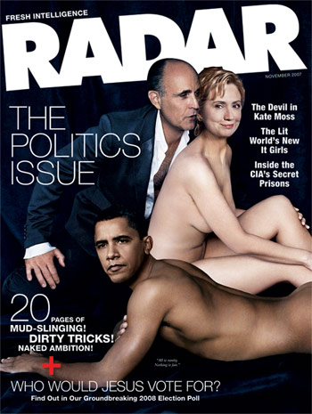 """Radar""-Titelbild November 2007"
