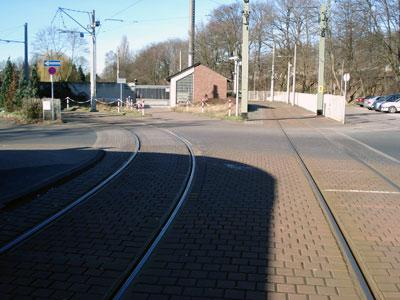 Straßenbahnwendeschleife