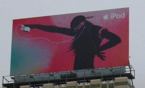 iPod-Werbeplakat