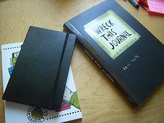 Wreck This Journal (Foto: Annika Krüger)