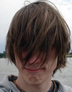 Haarschnitt: Vorher