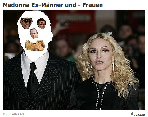 Madonna Ex-Männer und - Frauen