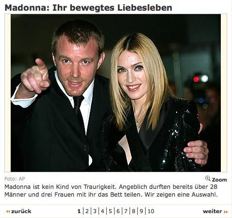 Madonna: Ihr bewegtes Liebesleben