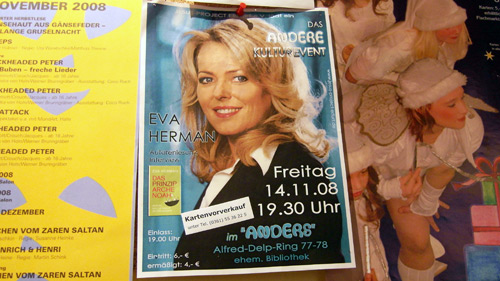 Das andere Kulturevent: Eva Herman