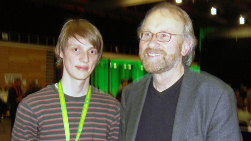 Lukas Heinser und Lukas Beckmann (v.l.n.r.)