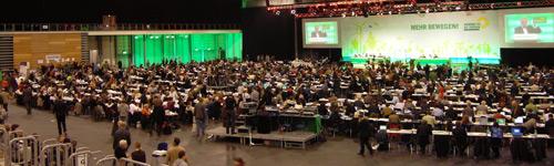 Bundesdelegiertenversammlung der Grünen 2008