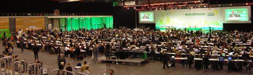 Grünen-Parteitag in Erfurt