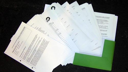 Anträge und Antragänderungsanträge (Auswahl)