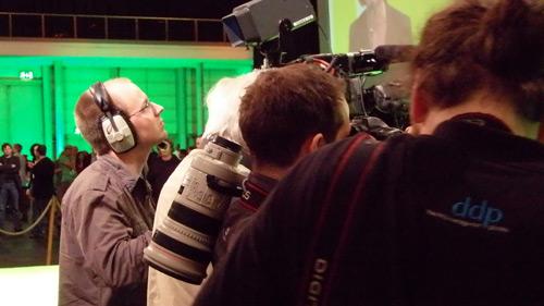 Die Presse belagert die grüne Führung