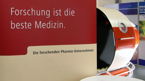 Die forschenden Pharma-Unternehmen