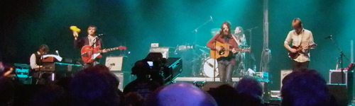 Fleet Foxes live on stage