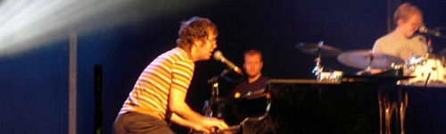 Ben Folds live on stage