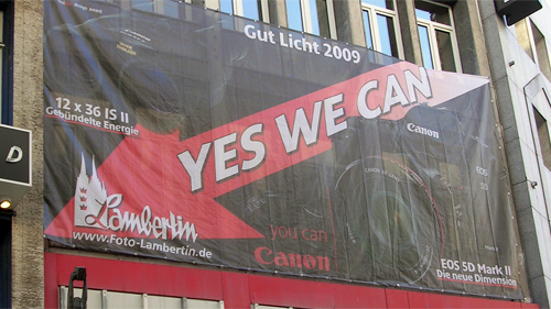 Gut Licht 2009: Yes we can
