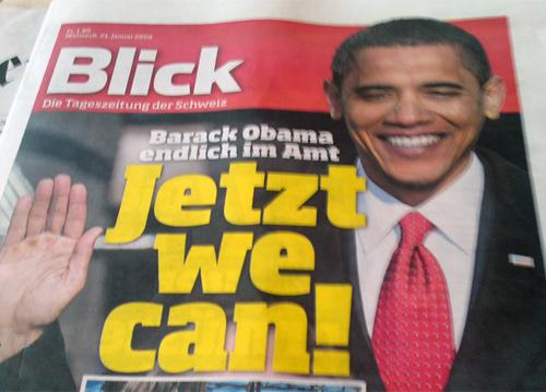 Barack Obama endlich im Amt: Jetzt we can!