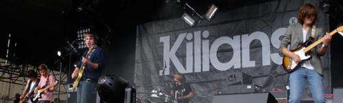 Kilians beim Haldern Pop 2008.