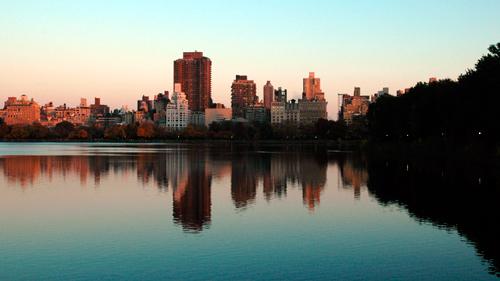 Das Jacqueline Kennedy Onassis Reservoir im Central Park (Foto: Lukas Heinser)