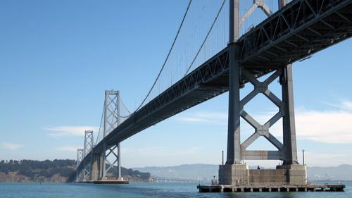 San Francisco - Oakland Bay Bridge in San Francisco, CA