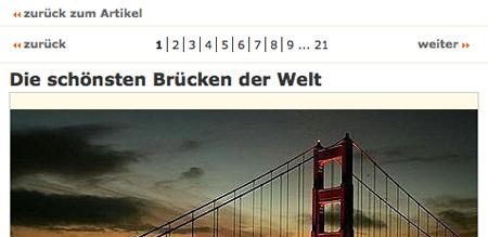 Die schönsten Brücken der Welt (20-teilige Bildergalerie)