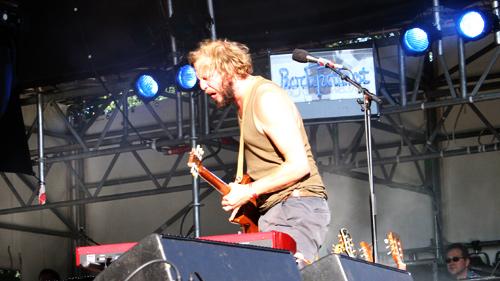 Bon Iver beim Haldern Pop 2009.