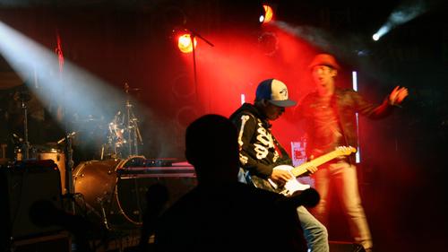 Colin Munroe beim Haldern Pop 2009.