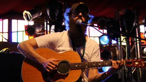 William Fitzsimmons beim Haldern Pop 2009.