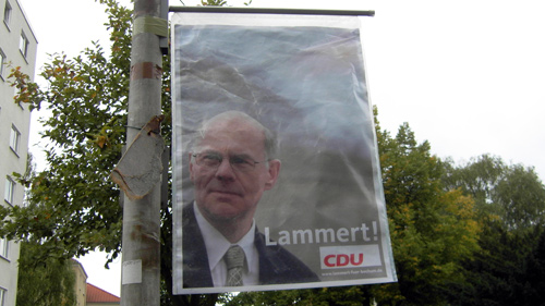 Lammert! CDU