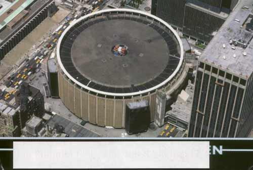 Heute anonym: Der Madison Square Garden