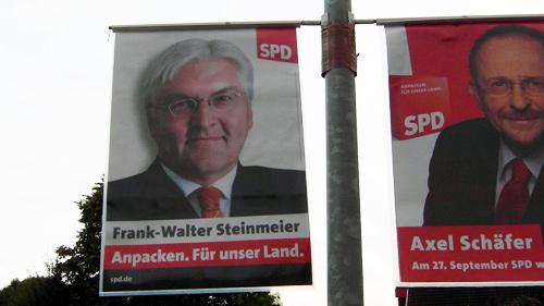 Frank-Walter Steinmeier Anpacken. Für unser Land.
