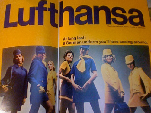 Lufthansa - At long last: a German uniform you'll love seeing around