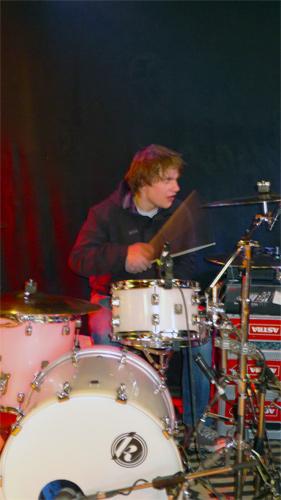 Einmal Schlagzeuger, immer Schlagzeuger...