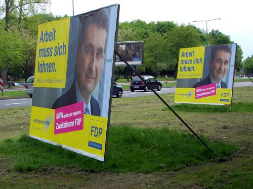 Im Schatten der FDP wuchert das Unkraut.