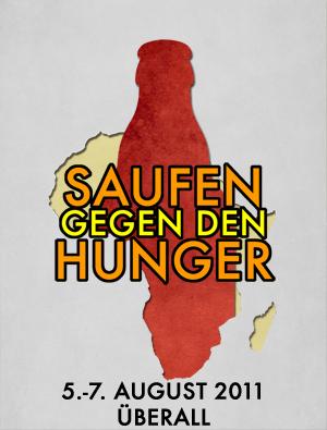 Saufen gegen den Hunger — Ab 5. August bei Facebook