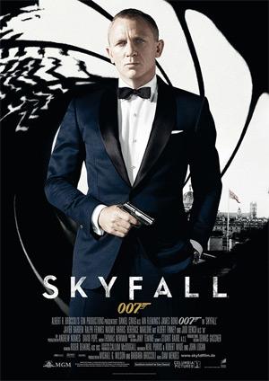 Skyfall (Offizielles Filmplakat)