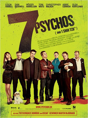7 Psychos (Offizielles Filmplakat)