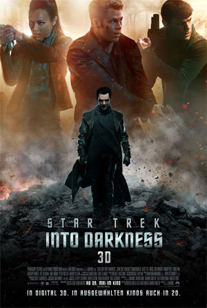 Star Trek — Into Darkness (Offizielles Filmplakat)