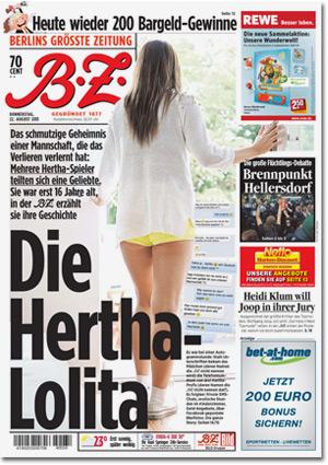 Die Hertha-Lolita