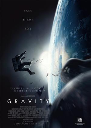 Gravity (Offizielles Filmplakat)