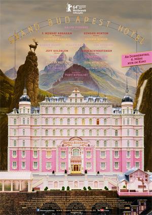 Grand Budapest Hotel (Offizielles Filmplakat)