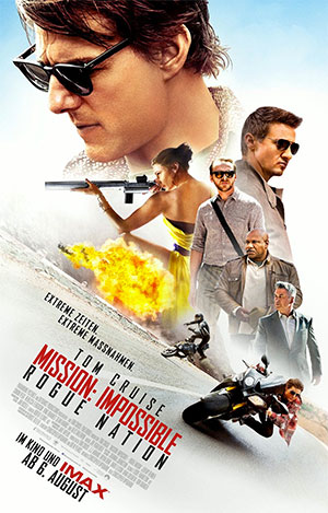 Mission: Impossible — Rogue Nation (Offizielles Filmplakat)