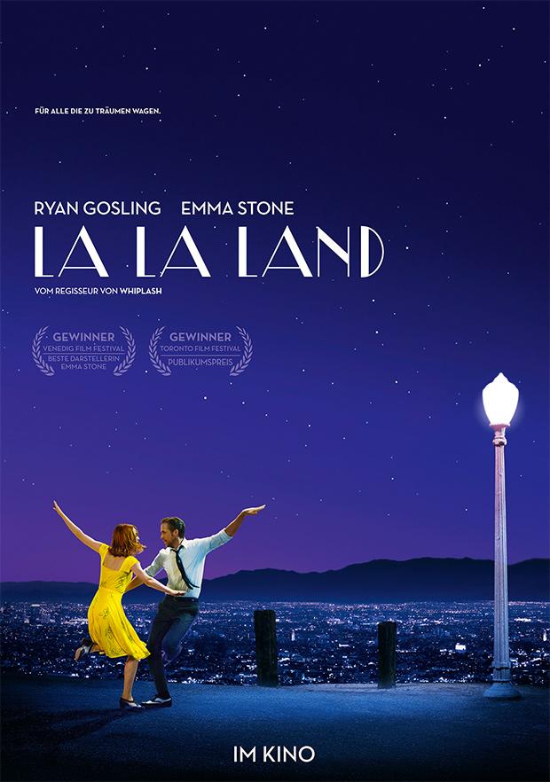 La La Land (Offizielles Filmplakat)