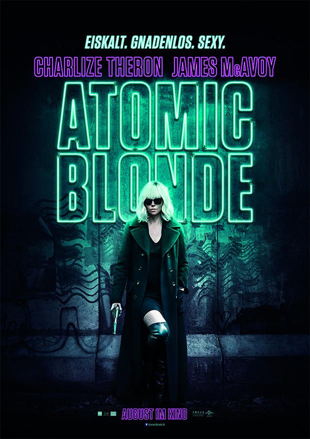 Atomic Blonde (Offizielles Filmplakat)