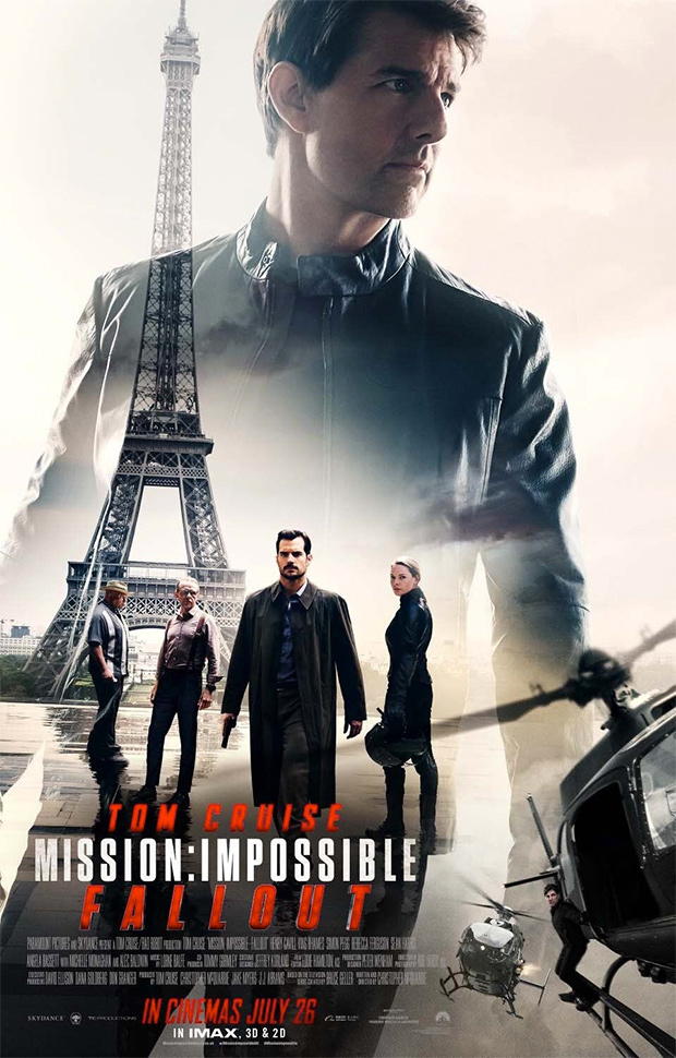 Mission: Impossible — Fallout (Offizielles Filmplakat)
